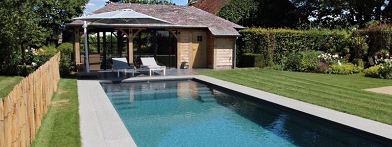 poolhouse moderne